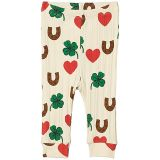 mini rodini Clover All Over Printed Leggings (Infant)