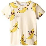 Mini rodini Banana All Over Print Short Sleeve Tee (Infant/Toddler/Little Kids/Big Kids)