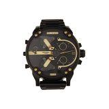 Diesel Mr Daddy 20 Multimovement Leather Watch - DZ7435 Correct style name: Mr Daddy 20 Multimovement Stainless Steel Watch - DZ7435