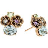 COACH Garden Cluster Stud Earrings