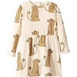 Mini rodini Spaniel Long Sleeve Dress (Infant/Toddler/Little Kids/Big Kids)
