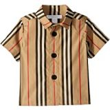 Burberry Kids Sammi Icon Button Up Shirt (Infant/Toddler)