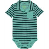 OshKosh BGosh Carters OshKosh Bgosh Baby Clothing Outfit Boys Jersey Polo Bodysuit Mint 24M
