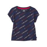 Tommy Hilfiger Kids Logo Print Tee (Big Kids)