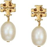 Tory Burch Baroque Pearl Drop Earrings