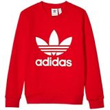 Adidas Originals Kids Trefoil Crew Sweater (Little Kids/Big Kids)