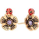COACH Garden Stud Earrings