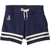 Polo Ralph Lauren Kids Striped French Terry Shorts (Toddler)