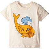 Mini rodini Whale Short Sleeve Tee (Infant/Toddler/Little Kids/Big Kids)
