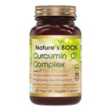 Nature's Boon Natures Boon Premium Quality Turmeric Curcumin C3 Complex with BioPerine 500 mg, 60 Veggie...