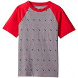 Tommy Hilfiger Kids Johnston Geo Short Sleeve Crew Neck Tee Shirt (Big Kids)