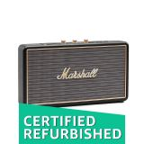 81b9dd51f50ac Amazon Renewed Marshall Stockwell Portable Bluetooth Speaker, Black  (4091390) (Renewed)