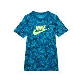 Nike Kids NSW Tee Futura All Over Print (Little Kidsu002FBig Kids)
