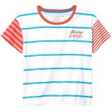 Stripe Dolman Tee (Big Kids)