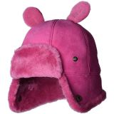 Water Resistant Sheepskin Trapper with Ears Hat (Toddler/Little Kids)