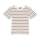 Janie and Jack Stripe Slub T-Shirt (Toddler/Little Kids/Big Kids)