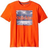 Adidas Kids Short Sleeve Night Game Tee (Big Kids)