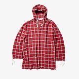 Hooded Runway Shirt Jacket