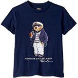 Polo Ralph Lauren Kids Captain Bear Cotton Tee (Little Kids/Big Kids)