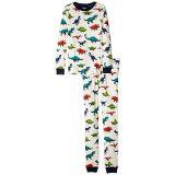 Hatley Kids Dino Herd Organic Cotton Pajama Set (Toddler/Little Kids/Big Kids)