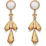 Tory Burch Poetry of Things Pearl Earrings