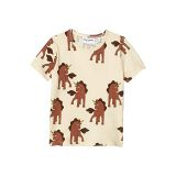 mini rodini Unicorns All Over Printed Short Sleeve Tee (Infantu002FToddleru002FLittle Kidsu002FBig Kids)