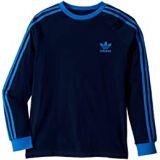 Adidas Originals Kids 3-Stripes Long Sleeve (Little Kids/Big Kids)