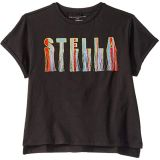 Logo Fringe Short Sleeve T-Shirt (Toddler/Little Kids/Big Kids)