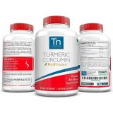 Trusted Nutrients Turmeric Curcumin Supplement with BioPerine | High Absorption Curcumin Formula | Concentrated 95% Curcuminoids | Advanced Pain Relief and Joint...