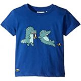 Lacoste Kids Fun Croc Tee Shirt (Toddler/Little Kids/Big Kids)