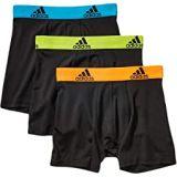Adidas Kids Sport Performance Climalite 3-Pack Boxer Brief (Big Kids)