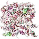 Jet Confections Charms Blow Pops, Assorted Flavors, Bubble Gum Filled Pops, Value Pack (4 Pounds)