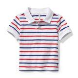 Stripe Polo (Toddler/Little Kids/Big Kids)
