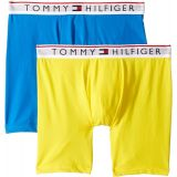 Tommy+Hilfiger Tommy Hilfiger Mens Modern Essentials 2-Pack Boxer Briefs Lemon Large