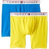 Tommy+Hilfiger Tommy Hilfiger Mens Modern Essentials 2-Pack Boxer Briefs Lemon Medium