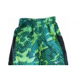 Nike Little Boys GFX Camo Shorts Dark Emerald 3t