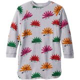 Happy Hedgehogs Sweatshirt Dress (Toddler/Little Kids/Big Kids)
