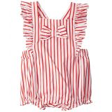 Janie and Jack Cross-Back Bubble One-Piece (Infant)