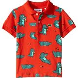 Lacoste Kids Fun Croc All Over Print Pique Polo (Infant/Toddler/Little Kids/Big Kids)