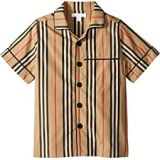 Burberry Kids Andres Icon Stripe Shirt (Little Kids/Big Kids)