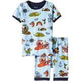 Hatley Kids Sea Monsters Organic Cotton Short Pajama Set (Toddler/Little Kids/Big Kids)
