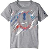 Nike Kids Painted Tron Football Tee (Toddler/Little Kids)