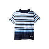 Polo Ralph Lauren Kids Ombre Striped Cotton T-Shirt (Little Kids/Big Kids)