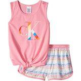 Calvin Klein Kids Two-Piece Sleeveless Top w/ Shorts (Little Kids/Big Kids)