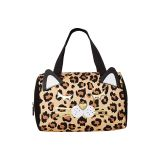 Betsey Johnson Insulated Leopard Cat Lunch Tote