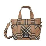 Burberry Kids Daphne Check Diaper Bag