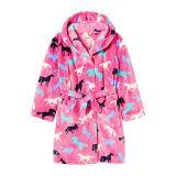 Hatley Kids Horse Silhouettes Fleece Robe (Toddleru002FLittle Kidsu002FBig Kids)