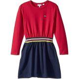 Fleece Feminine Dress with Elasticated Waist Band (Toddler/Little Kids/Big Kids)