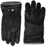 Deerskin Gloves with Knit Cuff