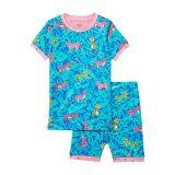 Hatley Kids Jungle Cats Organic Cotton Short Pajama Set (Toddleru002FLittle Kidsu002FBig Kids)